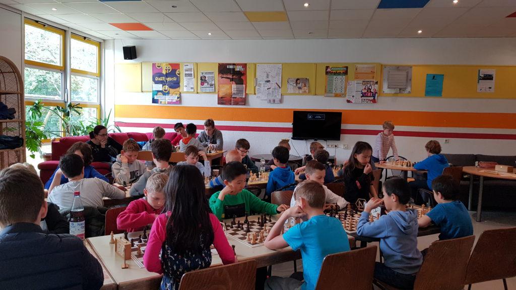 Kinder-Schnellschach-Turnier Heidelberg