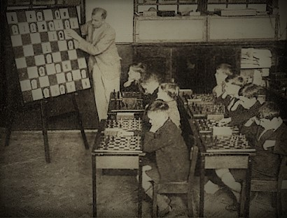 Schulschach anno dazumal mit GM George Koltanowski (1903-2000)