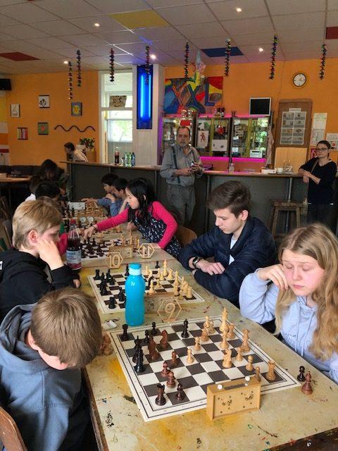 Jugendtreff Hasenleiser Kinder Schach